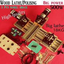 DIY Wood Lathe 500w Mini Lathe Machine Polisher Table Saw for polishing Cutting metal mini lathe