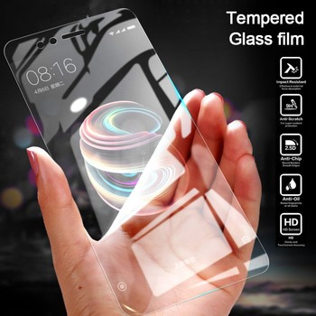 4pcs/Lot Tempered Glass For Huawei Y6P Y7P Y8P Y5P 2020 Y9 2018 Y6 Y5 2019 Y7 Prime Y5II Y6II Explosion Proof Screen Protector image