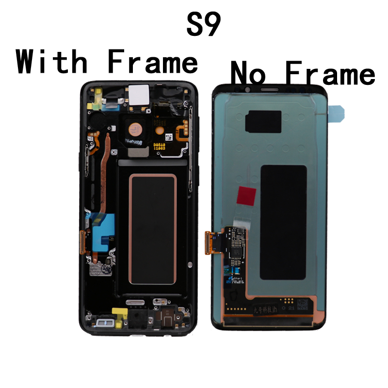 100 ORIGINAL SUPER AMOLED Replacement for SAMSUNG Galaxy S9 LCD Touch Screen Digitizer with Frame S9 100% ORIGINAL SUPER AMOLED Replacement for SAMSUNG Galaxy S9 LCD Touch Screen Digitizer with Frame S9 G960 LCD+Service package