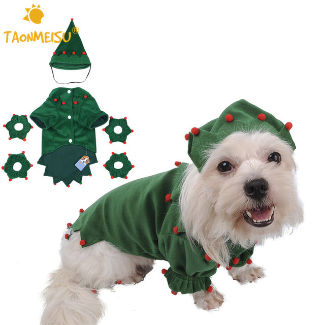 TAONMEISU mascota perro Navidad Halloween fiesta abrigo ropa mascotas  perrito adorable Elf conjuntos ropa Festival con. Sitúa el cursor encima  para ... c78f780a48c