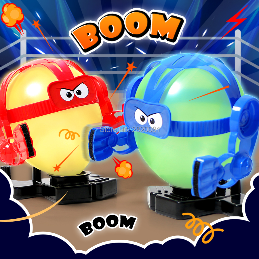 Boxing Balloon bot battle funny game toy,Bots box until the balloon pops!family puzzle fun toys party game for adult & kid t3184b educational toy coin slide chip game toy playing toy set