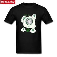 T Shirt Printing Online Green Eggs and Hamilton Short Sleeve Father's Day Custom Mens Leisure Tshirt XXXL