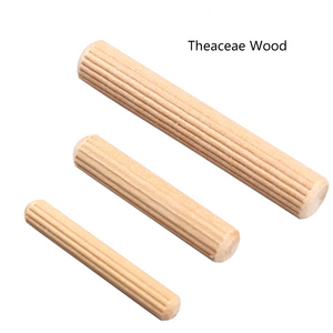 Image 3 - 100Pcs Woodworking Doweling Jig Kit Round Grooved Fluted Wooden Plug Wood Dowel Pins Rod Drilling Guide Locator Tool