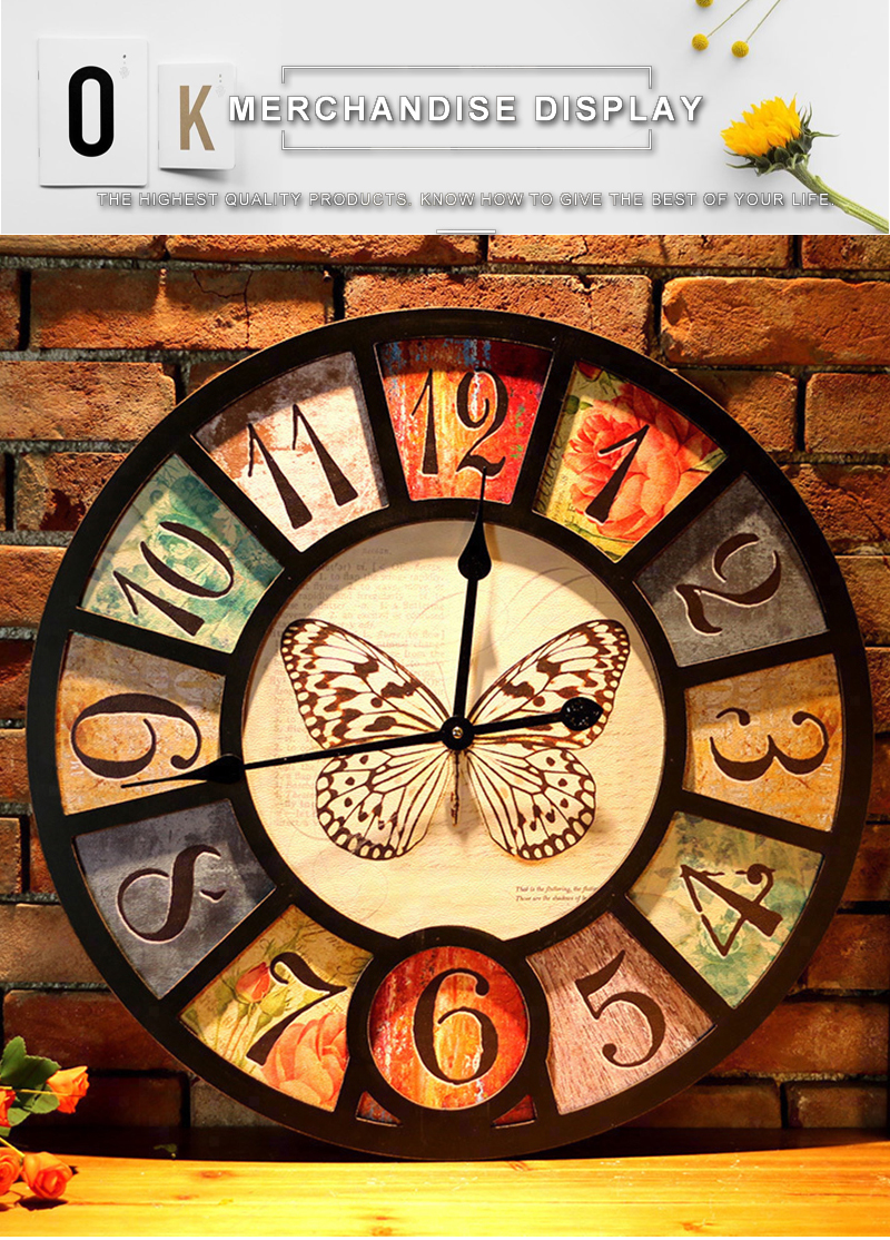 wall clock retro (8)