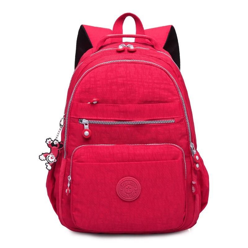 Tegaote School Backpack For Teenage Girl Mochila Feminina Kipled Women Backpacks Nylon Waterproof Casual Laptop Bagpack Female #5