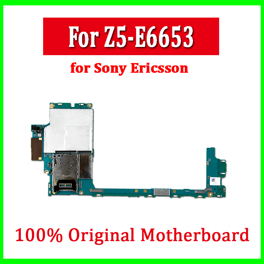 for sony xperia z5 premium e6653 motherboard original unlocked mainboard with full chips with [ 900 x 900 Pixel ]