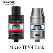 Digital Cigarette Atomizers SMOK Micro TFV4 Atomizer Vape Pen Field Mod Tank Massive Smoke Tank Vaporizer E Cigarette Atomizer S027