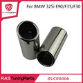 Chrome 304 Stainless Steel Exhaust Muffler Tip for BMW 325i E90/F35/F30  RS-CR8006