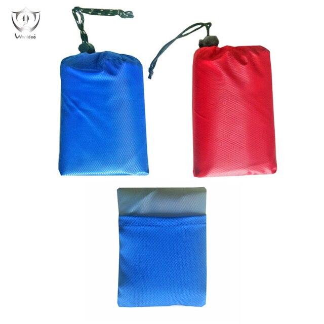 Picnic Blanket Portable Lightweight Waterproof Sandproof Pocket Beach Blanket 150*150cm Camping Festival Hiking Pocket Size ZF7-