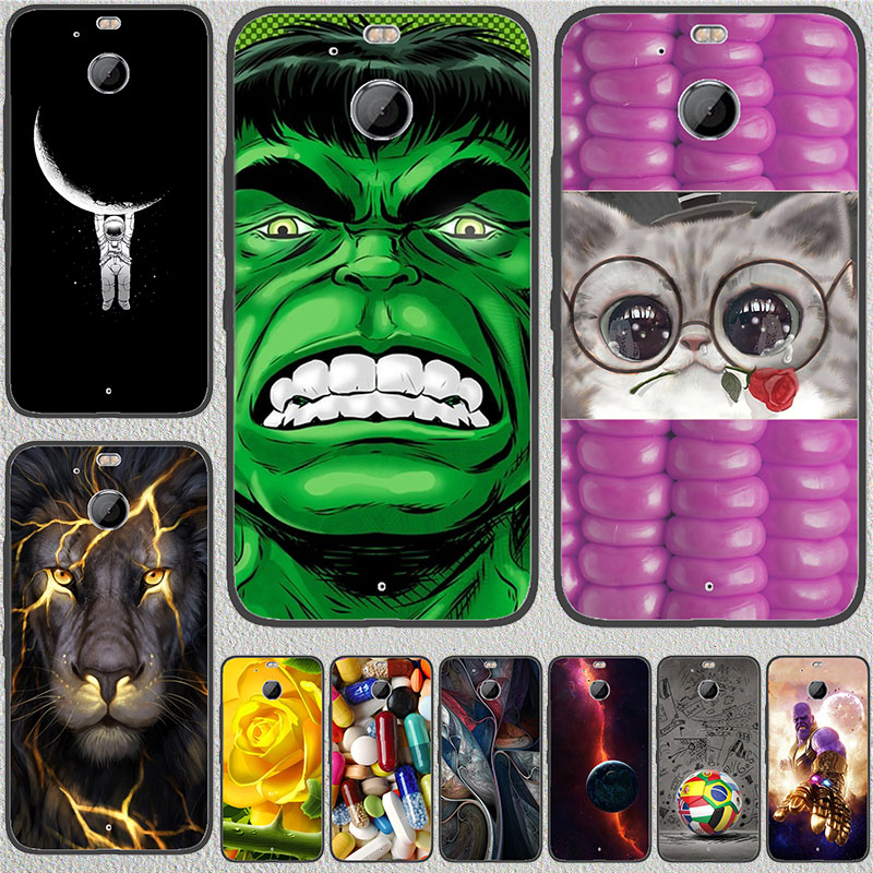 Coque Cat Case For HTC 10 Evo / BOLT 5.5 inch soft silicone Back Phone Cover For HTC 10 Evo Painted Pattern Cartoon Cases