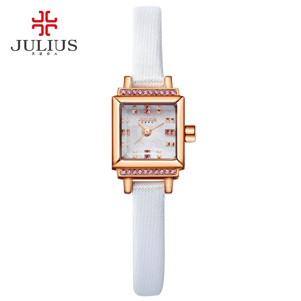 JULIUS Women Watch Stainless Steel Ladies Designer Japan Movt Quartz Watch Price Expensive Quality WR30m Watch