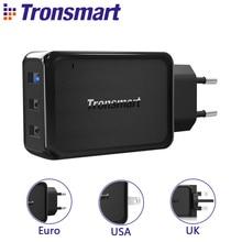[3 Порта] Tronsmart W3PTA Быстрая Зарядка 3.0 USB Зарядное Устройство с VoltiQ Технологий для Xiaomi для LG G5 Быстрое Зарядное Устройство Адаптер ЕС США ВЕЛИКОБРИТАНИИ