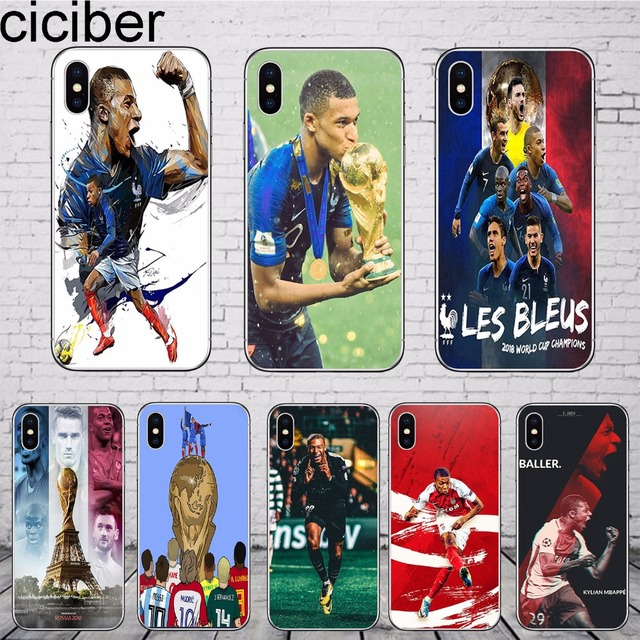 coque iphone 7 kylian mbappe