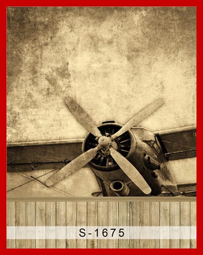 Custom Vinyl Cloth Wood Aircraft Vintage Airplane Photography Backdrops For Children Boy Photo Studio Portrait Backgrounds In Background From Consumer
