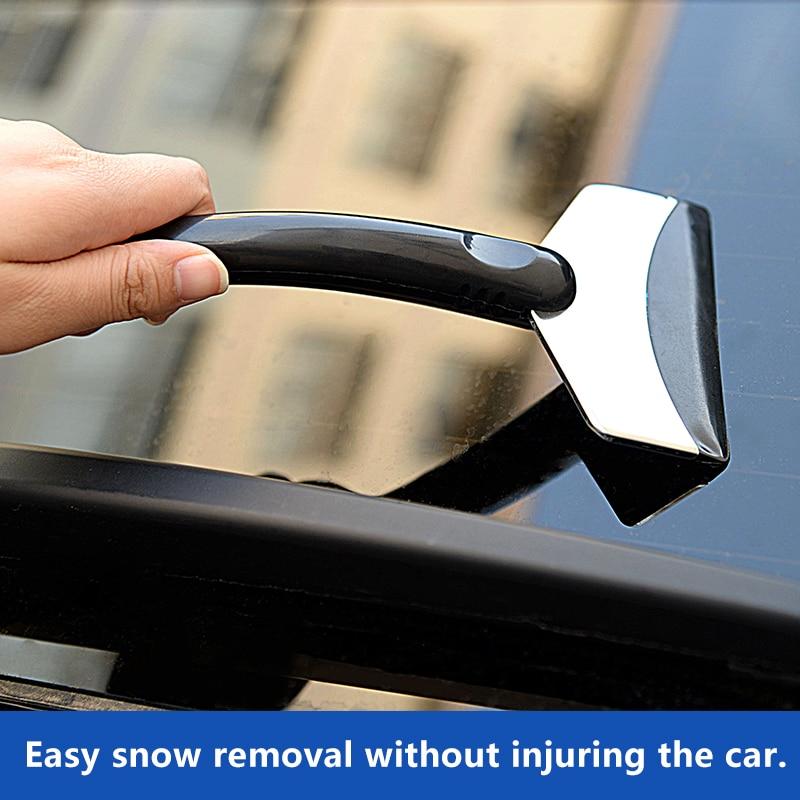 Image 5 - Ice Scraper Car Auto Tool Scraper Auto Parts Car Winter Shoveling Snow Tool Ice Shovel Car Snow Removal Tool Snow Shovel-in Ice Scraper from Automobiles & Motorcycles