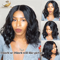 full lace wig / lace front wigs 130% density water wave brazilian virgin hair wig black women baby hair