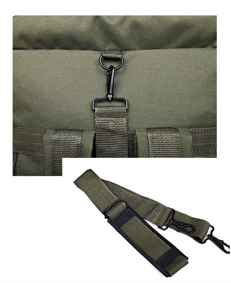 90l grande capacidade ao ar livre caminhadas mochila pacote tático militar camuflagem saco de bagagem acampamento tenda colcha recipiente 9 bolsos