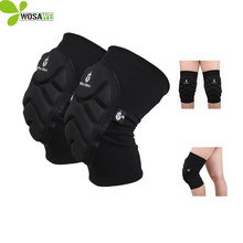 WOLFBIKE Two Pieces Skiing Goalkeeper Soccer Football Volleyball Extreme Sports knee pads Protect Cycling Knee Protector Kneepad