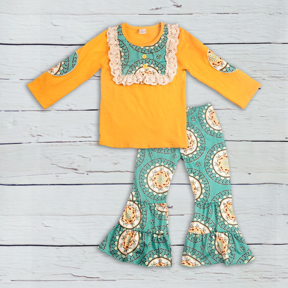 cheap price conice new arrival baby girl clothes yellow