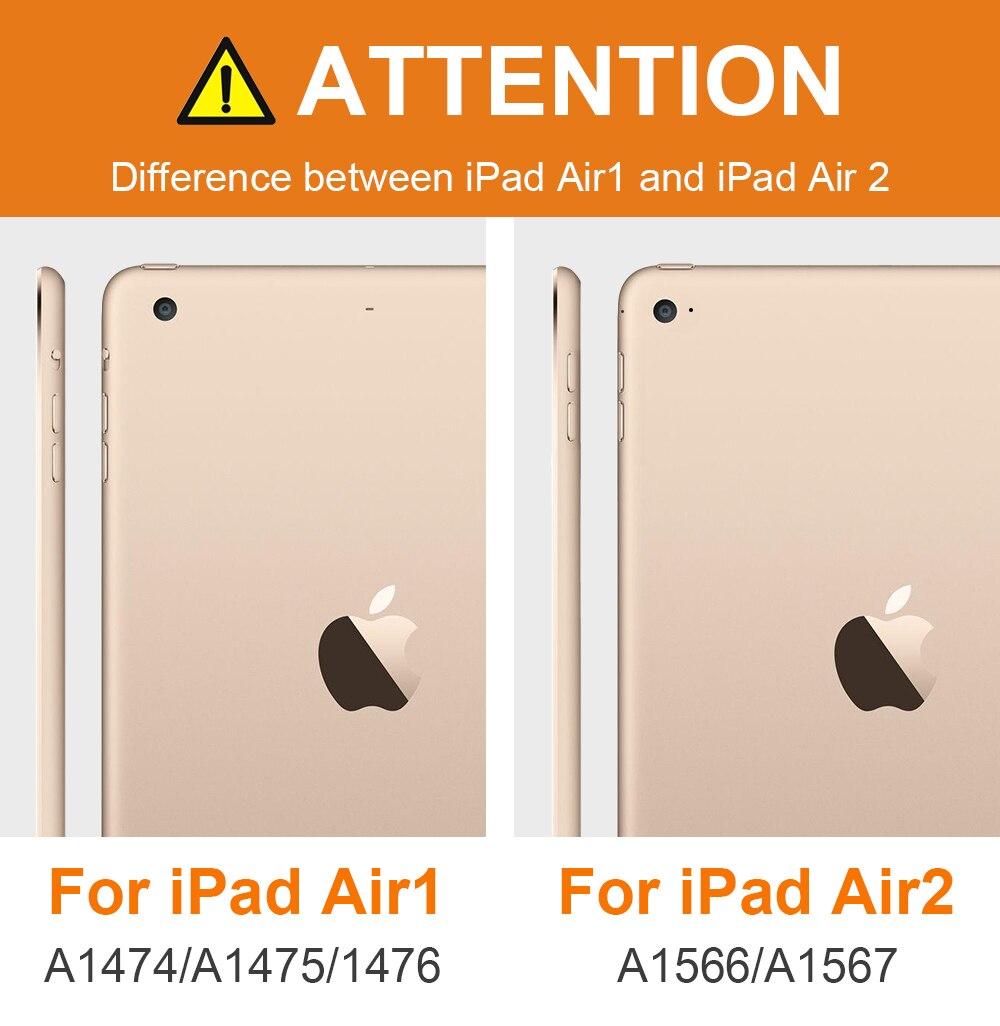Για iPad Air 2 Air 1 περίπτωση σιλικόνης - Αξεσουάρ tablet - Φωτογραφία 2