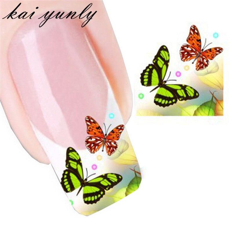 Aliexpress.com : Buy kai yunly 1PC Butterfly Nail Art Decoration ...