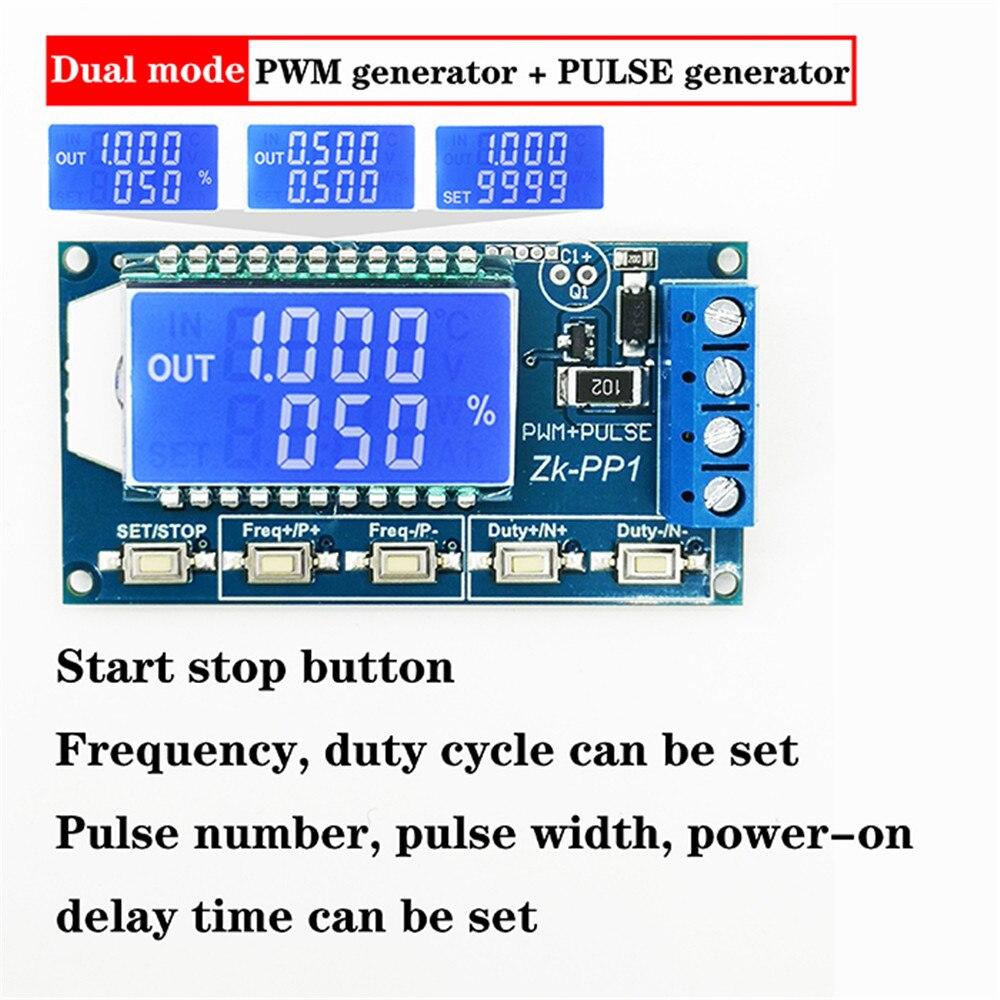 Двойной режим pwm Импульсный номер Частота Рабочий цикл регулируемый Генератор Модуль прямоугольная волна