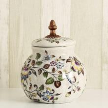 wedding decoration European Creative Decorative Candy Cans Ceramic Wares Tea Tanks Nostalgia Home Gifts