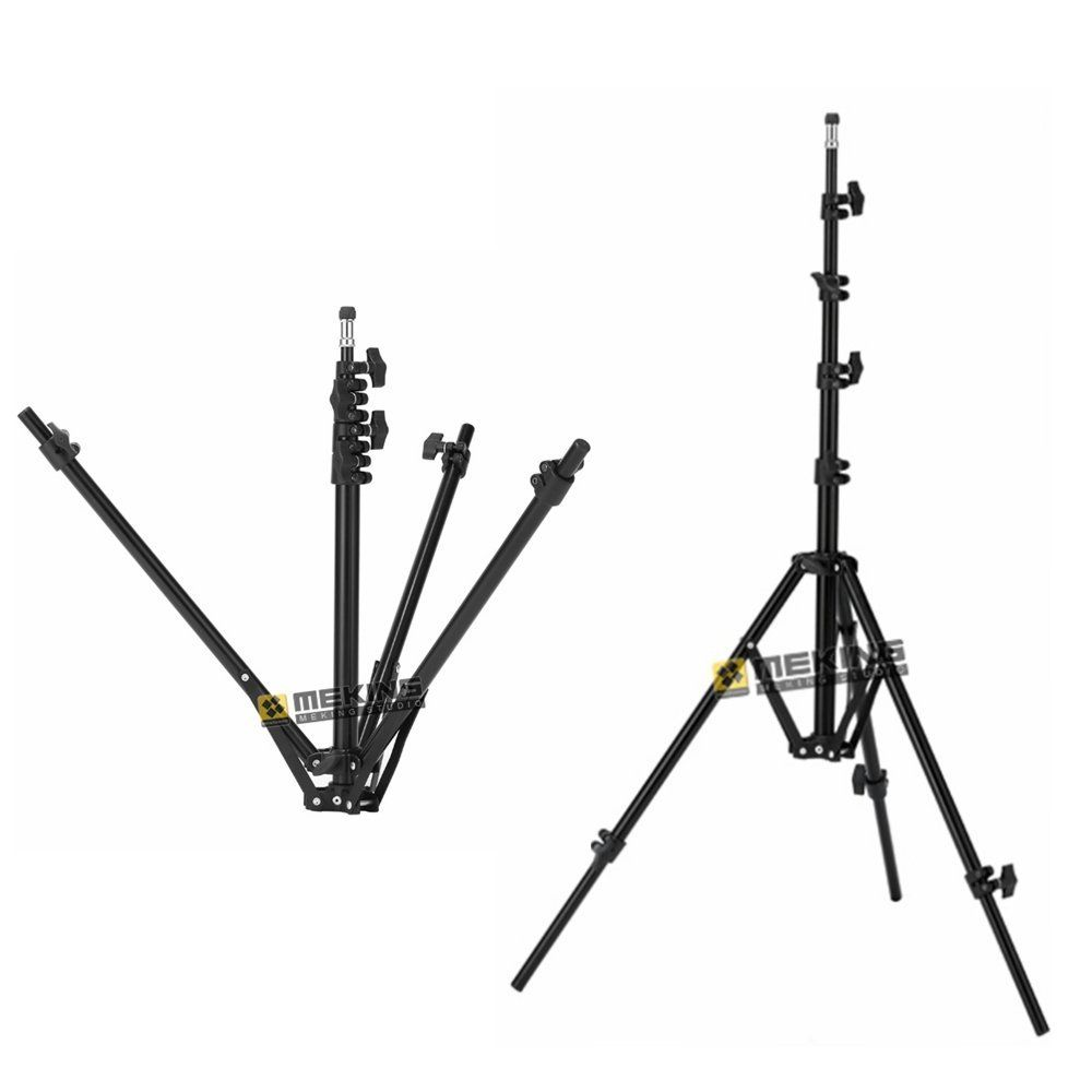 Selens Collapsible Light Stand MG 2200 220cm 7 2ft Photo Studio Stand Equipment