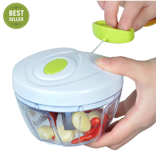 Pull-cord vegetable and Fruit dicer cutter/ kitchen gadgets easy tools