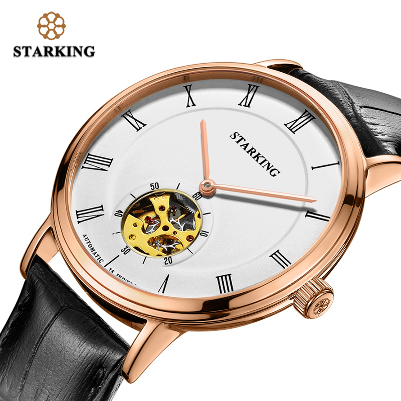 STARKING MAN Mechanical Automatic Self-Wind Watch Sapphire Crystal Watch Dial 5ATM Waterproof  2019 Fashion & Casual Wristwatch STARKING MAN Mechanical Automatic Self-Wind Watch Sapphire Crystal Watch Dial 5ATM Waterproof  2019 Fashion & Casual Wristwatch