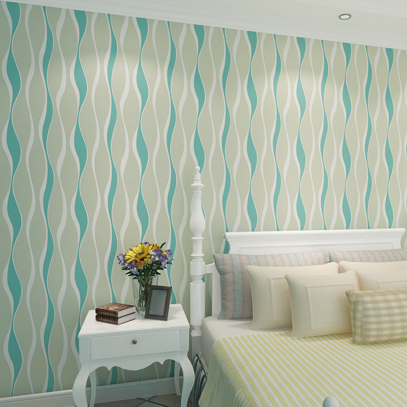 ФОТО beibehang three-dimensional wavy stripes wall papers home decor papel de parede 3d paisagem 3d room wallpaper landscape
