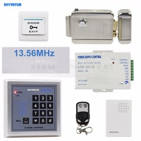 Door Bell RFID 13 56 MHz IC Card Reader Keypad Access Control System Security Kit Electric
