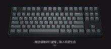 Ikbc C87 TKL механическая клавиатура компактная c 87 pbt Keycap Cherry MX Переключатель коричневый синий скорость-игровой клавиатурой с подсветкой