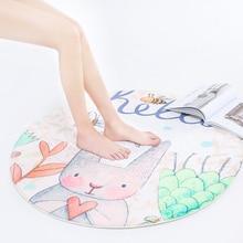 цена на Cartoon animals decoration rug for children room safe mat big size bedroom carpet for baby playing