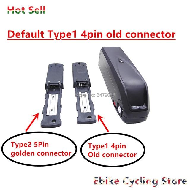 Livraison gratuite 48v 17ah nouveau grand requin hailong vers le bas tube e-bike batterie avec USB avec chargeur pour 1000w 750w 500w Ebike batterie