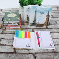 1 PCS neue kreative Kawaii Mini Memo Pad set Mit Kugelschreiber Notizblock Geben Ihre Kinder Die Beste Lernen Schreibwaren 2 arten