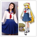 Japanese Anime Sailor Venus Cosplay Costume sailor suit School Uniform Dress Sailormoon Customized XXS-XXXL