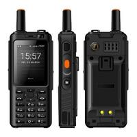 IP65 Walkie Talkie Mobile Phone Waterproof shockproof Zello Rugged Smartphone MTK6737M Quad Core Android Keyboard Feature Phone