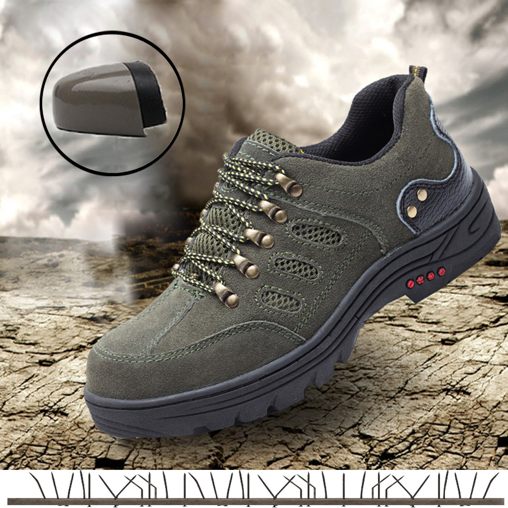 Mens safety shoes Steel Toe Cap Working Shoes Men Outdoor Boots Breathable sports indestructible Sneakers hiking Shoes for manMens safety shoes Steel Toe Cap Working Shoes Men Outdoor Boots Breathable sports indestructible Sneakers hiking Shoes for man