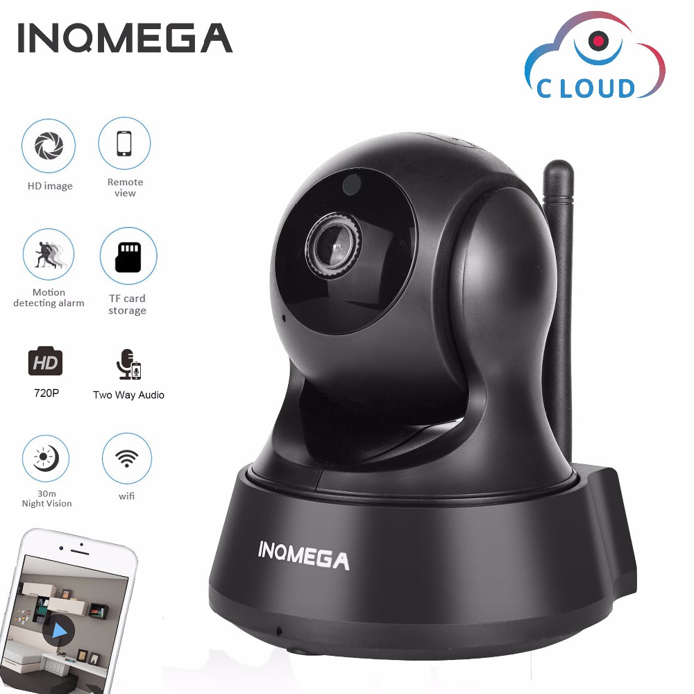 INQMEGA 720P Cloud Storage IP Camera Wireless Wifi Cam Home Security Surveillance CCTV Network Camera Night Vision Baby Monitor