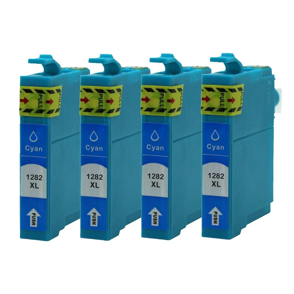 4PK T1282 Cyan Ink Cartridges for Epson S22 SX125 SX130 SX420W SX425W SX430W SX435W SX438W SX440W SX445W BX305F BX305FW Plus4PK T1282 Cyan Ink Cartridges for Epson S22 SX125 SX130 SX420W SX425W SX430W SX435W SX438W SX440W SX445W BX305F BX305FW Plus