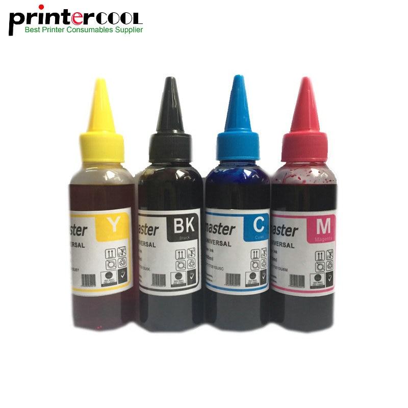 400 ML Tinta Corante para EPSON WF-5620 WF-5690 T2521-T2524 WF-3620 WF-3640 WF-7610 WF-7620 WF-7110 3620 3640 7620 Impressora de Tinta corante