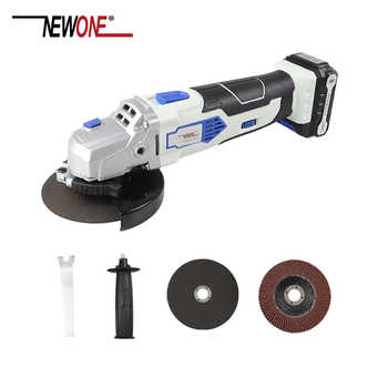 NEWONE 12V Angle Grinder with 2000mAh Lithium-Ion M10 Cordless Power Tool Cutting and Grinding Machine Polisher for Home DIY - DISCOUNT ITEM  35% OFF All Category