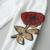 Ropa de bebé Niñas Establece 2016 de La Moda de Otoño de Ropa Deportiva De Lana de Manga Larga Rosas Florales Bordados Sequinsets Conjuntos de Ropa Para Niños