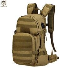 25L USB Charging Riding backpack Waterproof Nylon Military Backpack Molle Army Bag Men Backpacks Rucksack Travel Backpacks