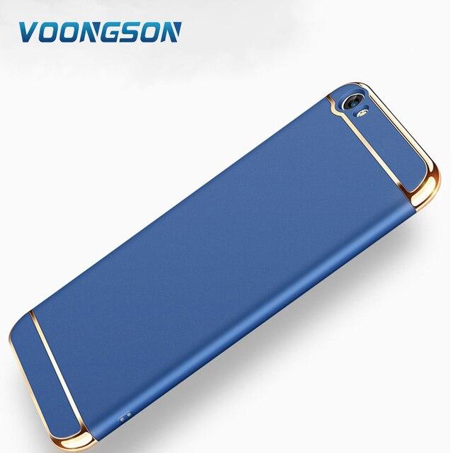 3 in 1 phone case for bbk vivo y66 back cover hard case 360 degree