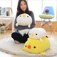 60cm Chicken pillow soft plush toy chick doll Animal pillow Soothing sleep pillow