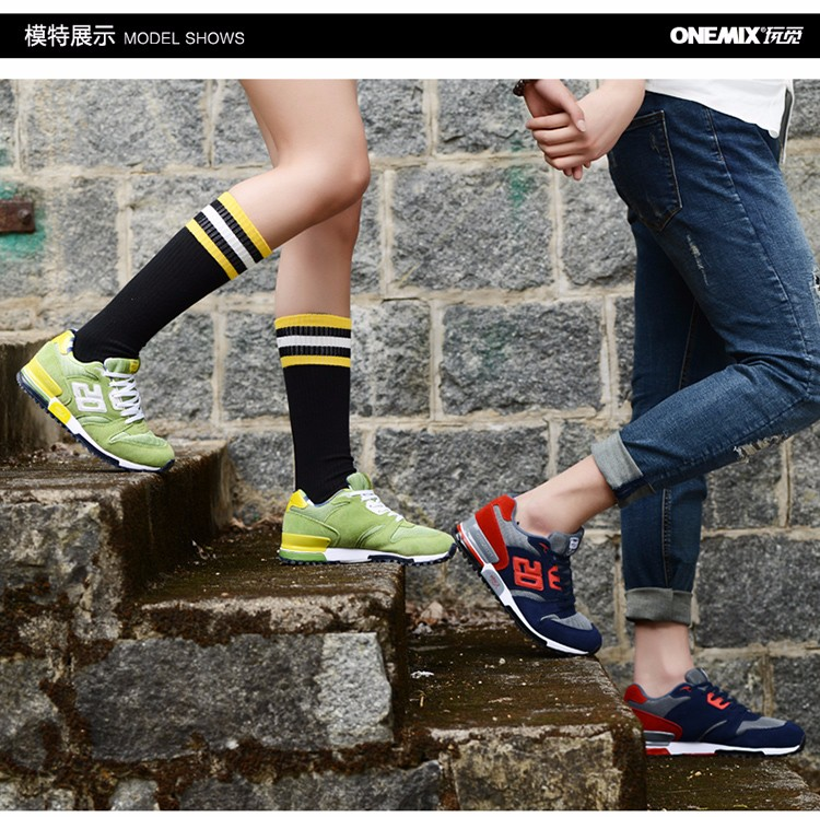 ONEMIX Men Retro 750 Running Shoes Rubber Leather Sport Women Trainers Sneakers Breathable Female Walking Jogging Shoes EU 36-44 11