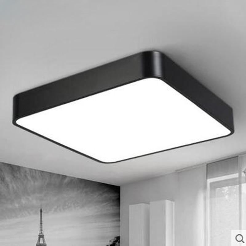 Us 146 0 60 Off Led Square Ceiling Light Modern Simple Rectangular Aisle Corridor Office Lighting Fixture Lamp In