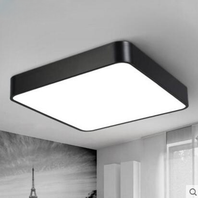 LED Square Ceiling Light Modern Simple Rectangular Aisle